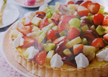 Gemengde fruittaart …
