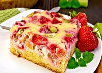 Rabarber-aardbeien …