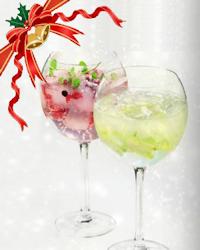 Gin-tonic met granaatappel