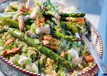 Couscous met broccolirijst
