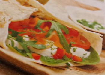 Tortilla courgette geitenkaas