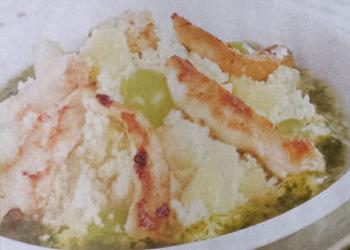 Couscous kippenreepjes