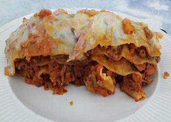 Lasagna uit eigen keuken