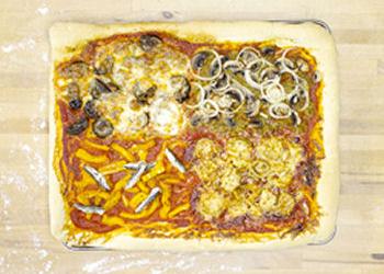 4 Seizoenen pizza