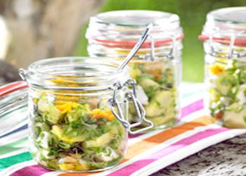 Fruitige krieltjessalade
