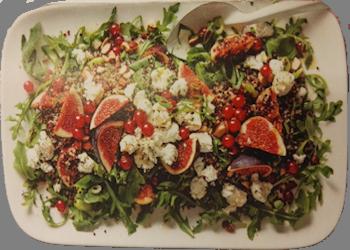 Salade met quinoa,…