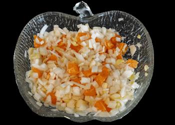 Witlof & mandarijntjes